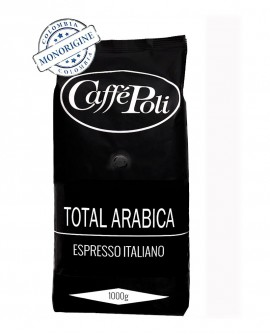 Caffè in grani in sacco da 1000 gr - Caffè Monorigine - Colombia - Confezione da 1000 gr. - Caffè Poli