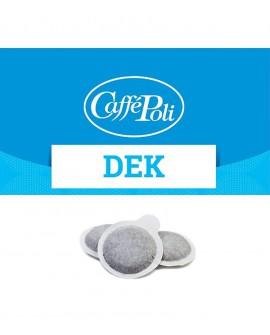 Cialda carta - Caffè Dek - Confezione da 150 pezzi - Caffè Poli