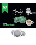Cialda carta - Caffè Carta Verde - Confezione da 50 pezzi - Caffè Poli