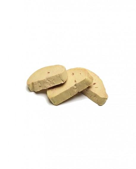 Scaloppe foie gras d'oca crude 50g - confezione 1Kg - Quack Italia