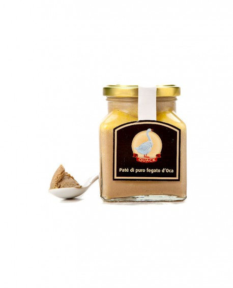 Patè d'Oca - 100g in vasetto vetro - Quack Italia