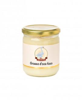 Grasso d'oca fuso - 300g in vasetto vetro - Quack Italia