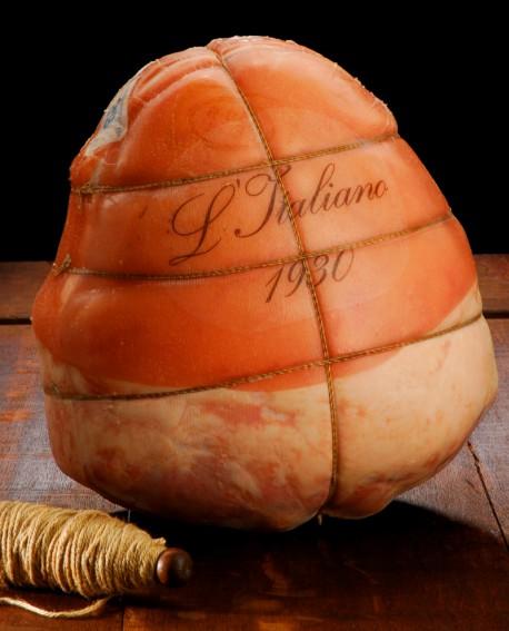 Prosciutto cotto L'ITALIANO 1930 nazionale  12 Kg - Buoni Cotti PERTUS