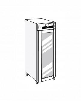 Armadio frigorifero Stagionatore 700 VIP Salumi - STG ALL 700 VIP S LCD - Refrigerazione - Everlasting