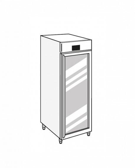 Armadio frigorifero Stagionatore 700 GLASS Salumi - STG ALL 700 GLASS S ADV - Refrigerazione - Everlasting