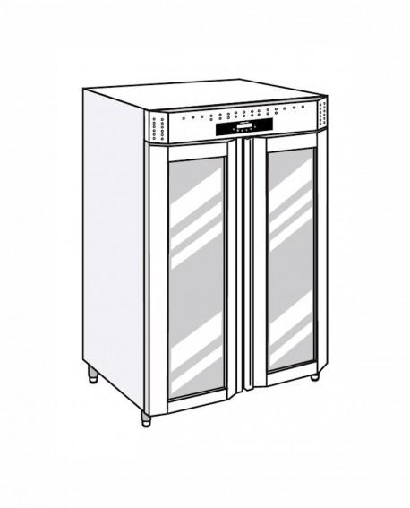 Armadio frigorifero Stagionatore 1500 VIP Salumi - STG ALL 1500 VIP S LCD - Refrigerazione - Everlasting