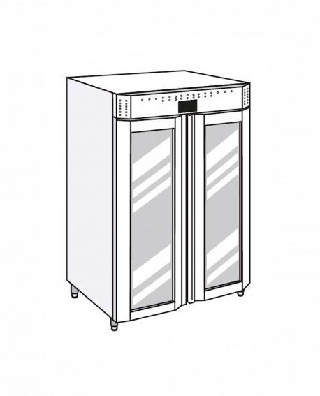 Armadio frigorifero Stagionatore 1500 VIP Carni e Formaggi - STG ALL 1500 VIP CF ADV - Refrigerazione - Everlasting