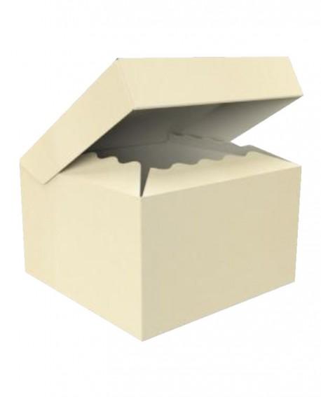 Bauletto con coperchio attaccato alla scatola 33X33 H33 - n.20 pezzi - Cesteria M.B. Service
