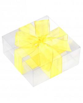 Nastro in organza 15mm x 50mt Colore giallo - Cesteria M.B. Service