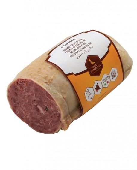 Salame cotto d'oca di Vigevano GOLIARDO 1,5 kg - Oca Sforzesca