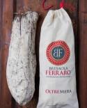 Bresaola della Valtellina artigianale, Slinzegapp delicata Oltremera - 600g stagionatura 45gg - Bresaola Ferraro