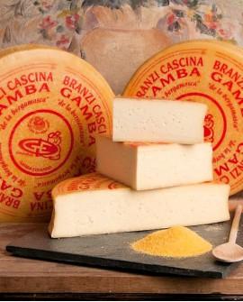 Formaggio branzi de la bergamasca Cascina Gamba - metà 4kg - Salumificio Gamba Edoardo