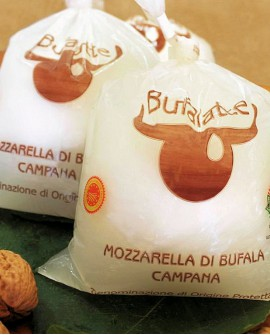 Mozzarella di bufala campana dop Treccia 1000g - Salumificio Gamba Edoardo