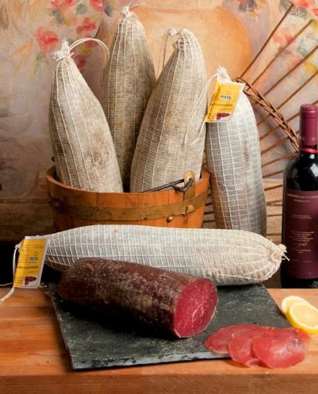 Bresaola manzo punta d'anca bio - metà 1,8 Kg - Salumificio Gamba Edoardo
