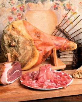 Prosciutto crudo Parma dop Riserva con osso 10Kg 24 mesi - Salumificio Gamba Edoardo