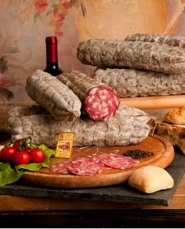 Salame bergamasco 1kg - Salumificio Gamba Edoardo
