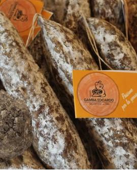 Salame filzetta tartufo 400g - Salumificio Gamba Edoardo