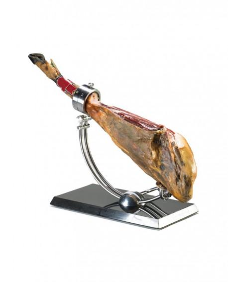 Pata Negra Jamón Iberico Bellota con osso - 9 kg - stagionatura 45/50 mesi - Alimentari San Michele - Oro