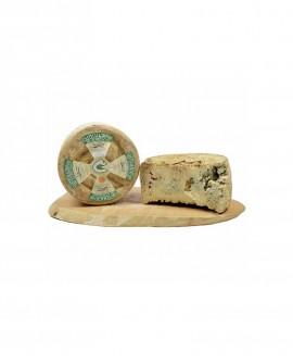 Castelmagno Dop Alpeggio misto latte crudo 5Kg stagionatura 90gg selezione - Gildo Formaggi