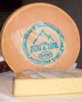 Fontina Dop latte crudo 10kg stagionatura 90gg selezione - Gildo Formaggi