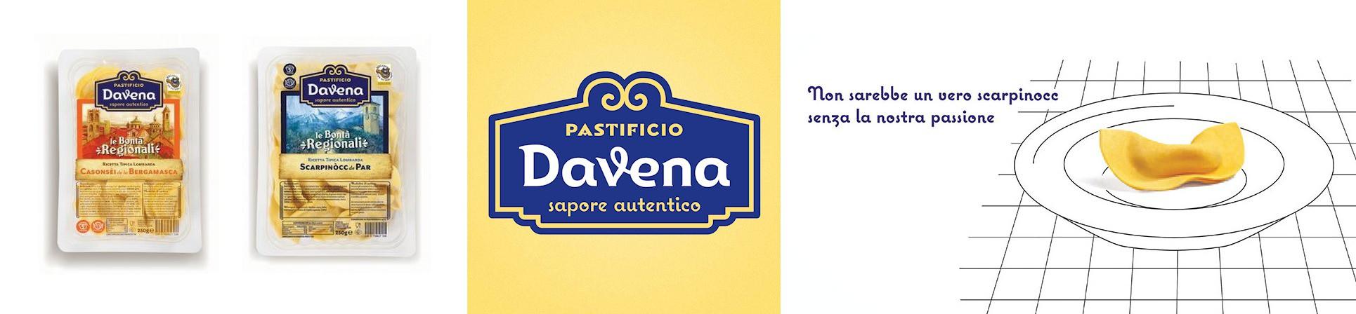 Pasta fresca lombarda tipica regionale, casonsei e scarpinoc vendita online - PASTIFICIO DAVENA
