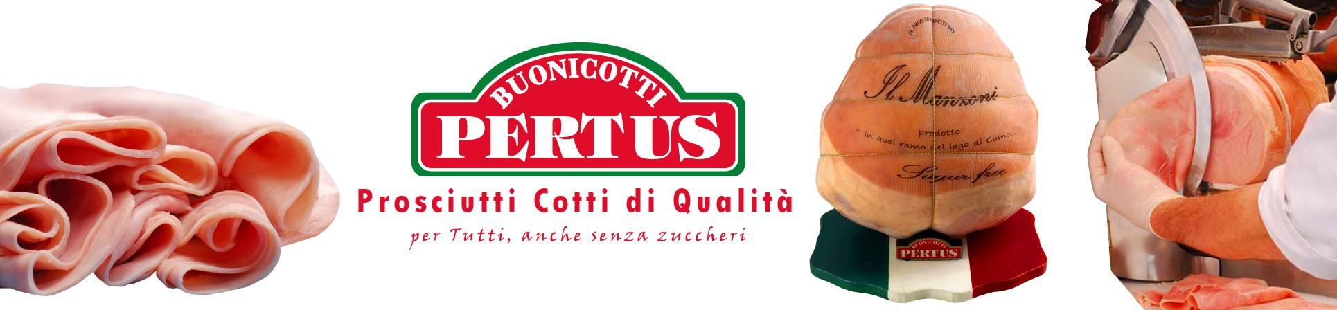 Prosciutto cotto artigianale vendita online - BUONICOTTI PERTUS