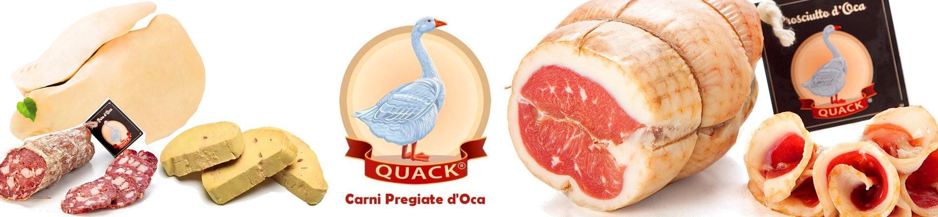 Salumi d'oca e foie gras vendita online - QUACK